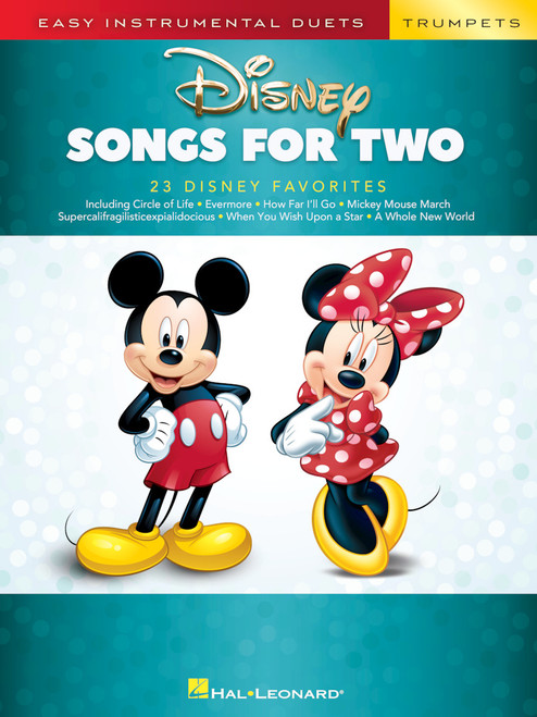 Disney Songs for Two Trumpets - Easy Instrumental Duets