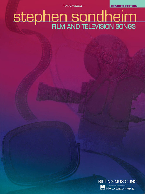 Stephen Sondheim - Film and Television Songs (Revised Edition) - Piano / Vocal / Guitar
