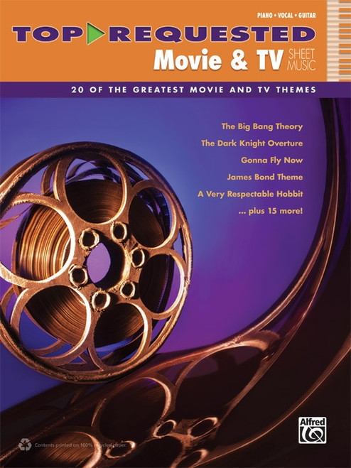 Top Requested Movie & TV Sheet Music - Piano / Vocal / Guitar