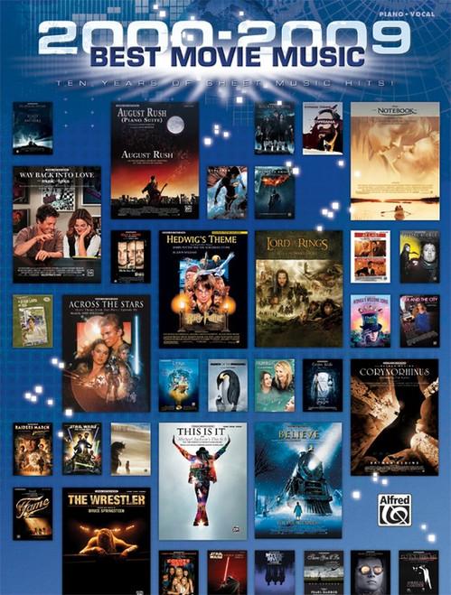 2000-2009 Best Movie Sheet Music - Piano / Vocal