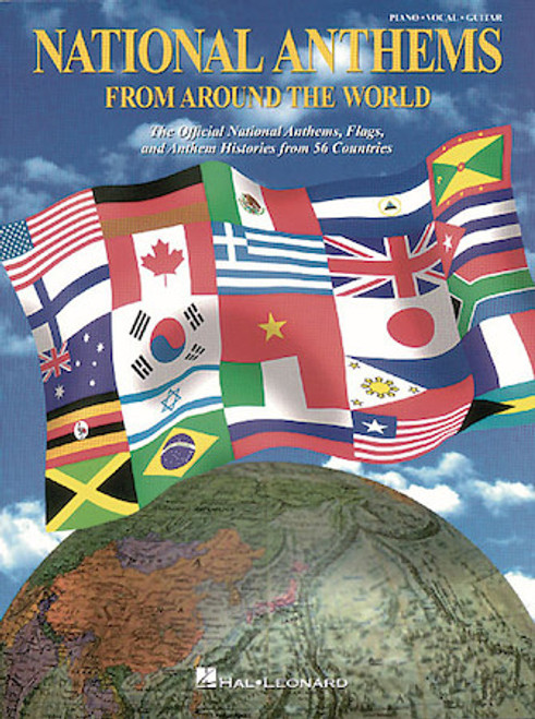 National Anthems from Around the World - Piano / Vocal / Guitar