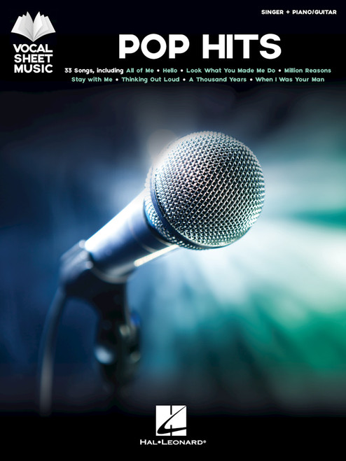 Pop Hits (Vocal Sheet Music) - Singer / Piano / Guitar