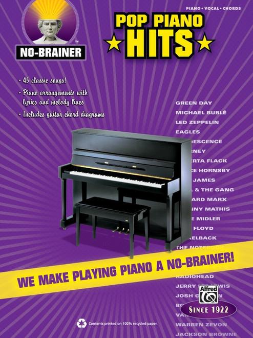 Pop Piano Hits (No-Brainer) - Piano / Vocal / Guitar