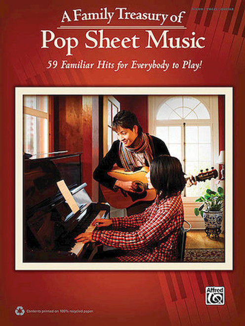 A Family Treasury of Pop Sheet Music - Piano / Vocal / Guitar