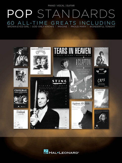 Pop Standards (60 All-Time Greats) - Piano / Vocal / Guitar