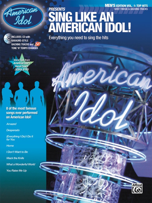 American Idol Presents - Sing Like An American Idol! Men's Edition Vol 1: Top Hits w/CD