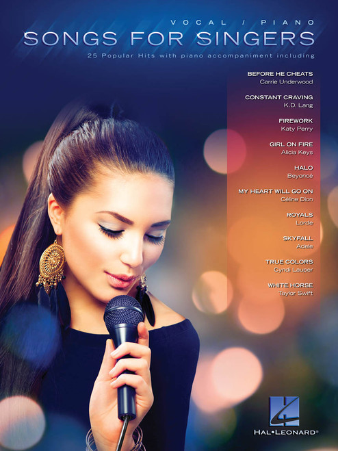 Songs for Singers (25 Popular Hits with piano accompaniment) - Vocal / Piano