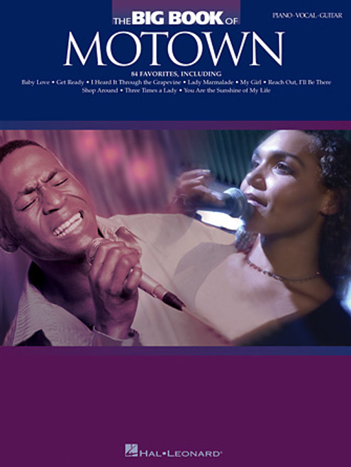 The Big Book of Motown - Piano / Vocal / Guitar