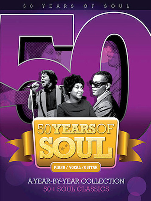 50 Years of Soul - Piano / Vocal / Guitar