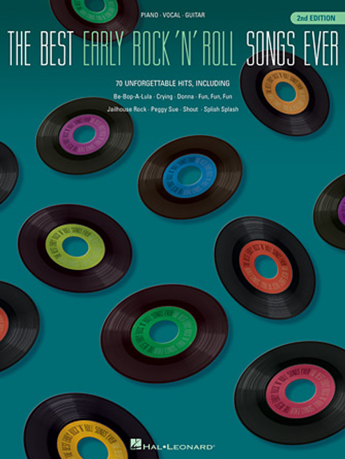 The Best Early Rock N' Roll Songs Ever (2nd Edition) - Piano / Vocal / Guitar