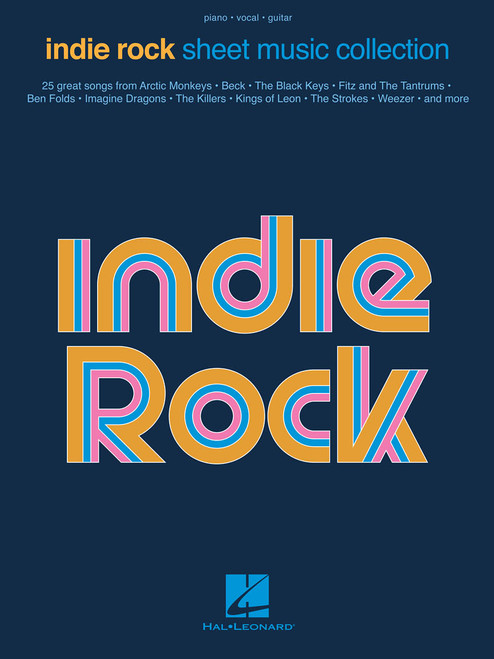 Indie Rock Sheet Music Collection - Piano / Vocal / Guitar