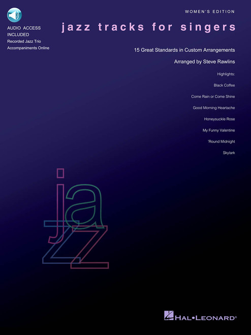 Jazz Tracks For Singers - Women's Edition w/ audio access