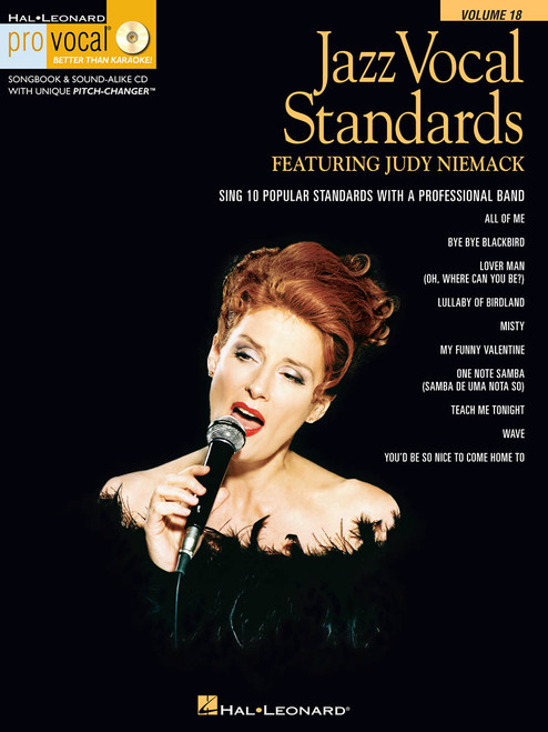 Jazz Vocal Standards - Pro Vocal Vol 18 w/ CD