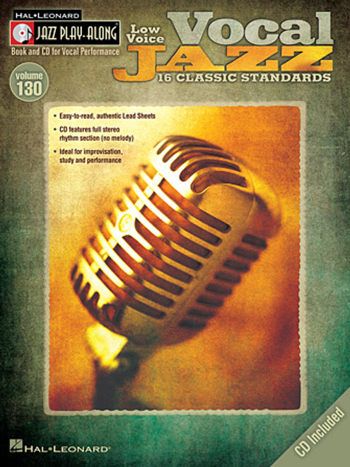 Vocal Jazz (Low Voice) - Jazz Play Along Vol 130