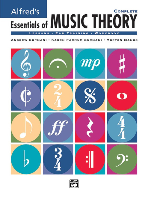 Alfred's Essentials of Music Theory - Complete (Books 1-3)