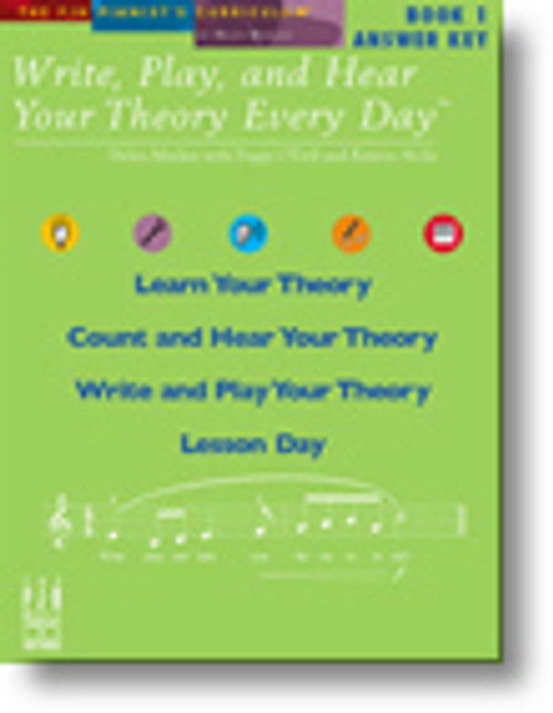 Write, Play, and Hear Your Theory Every Day - Book 1 (Answer Key)