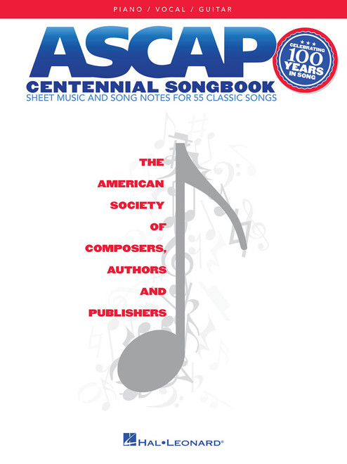 ASCAP Centennial Songbook - Piano / Vocal / Guitar