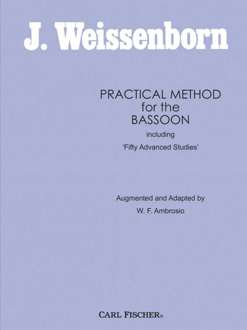J. Weissenborn Practical Method for the Bassoon