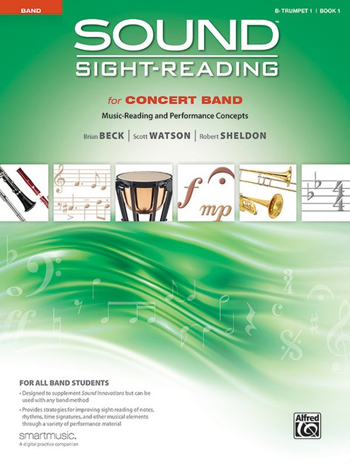 Sound Sight-Reading for Concert Band, Book 1 - Bb Trumpet 1