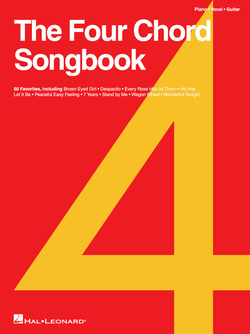 The Four Chord Songbook - Piano / Vocal / Guitar