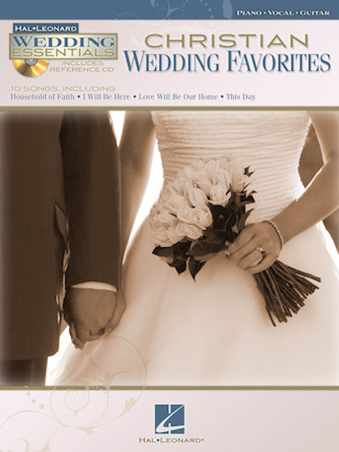 Christian Wedding Favorites (Hal Leonard Wedding Essentials w/CD) - Piano / Vocal / Guitar