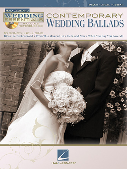 Contemporary Wedding Ballads (Hal Leonard Wedding Essentials w/CD) - Piano / Vocal / Guitar