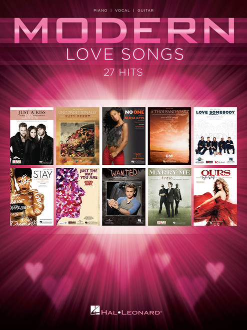 Modern Love Songs (27 Hits) - Piano / Vocal / Guitar