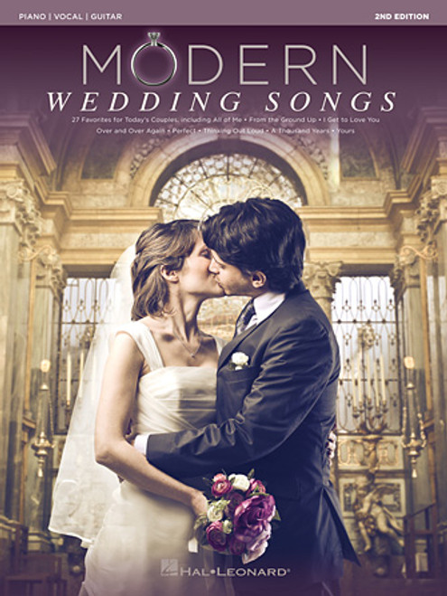 Modern Wedding Songs (2nd Edition) - Piano / Vocal / Guitar