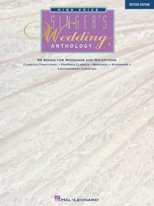 Singer's Wedding Anthology (Revised Edition) - High Voice