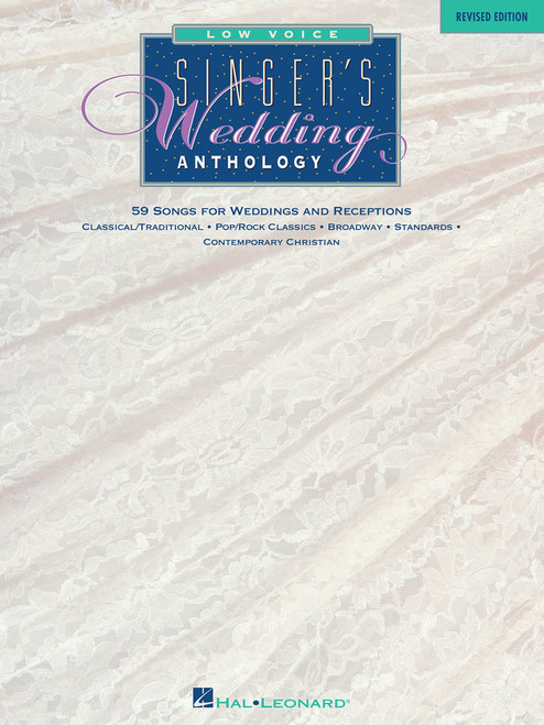 Singer's Wedding Anthology (Revised Edition) - Low Voice