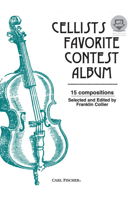 Cellists Favorite Contest Album (15 Compositions) Selected and Edited by Franklin Collier