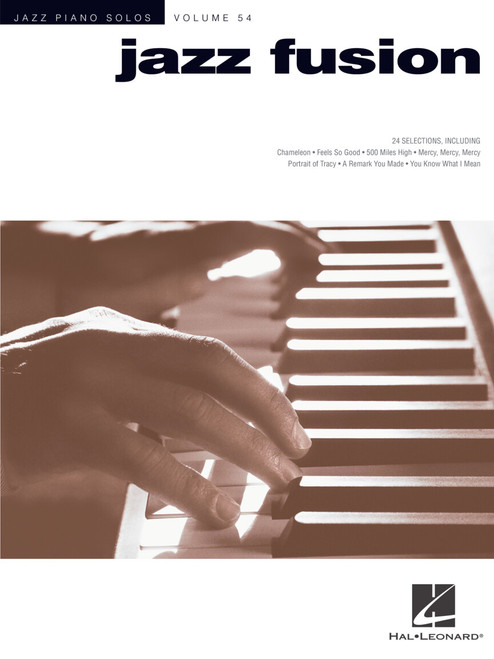 Jazz Fusion (Jazz Piano Solos Volume 54) - Piano Songbook