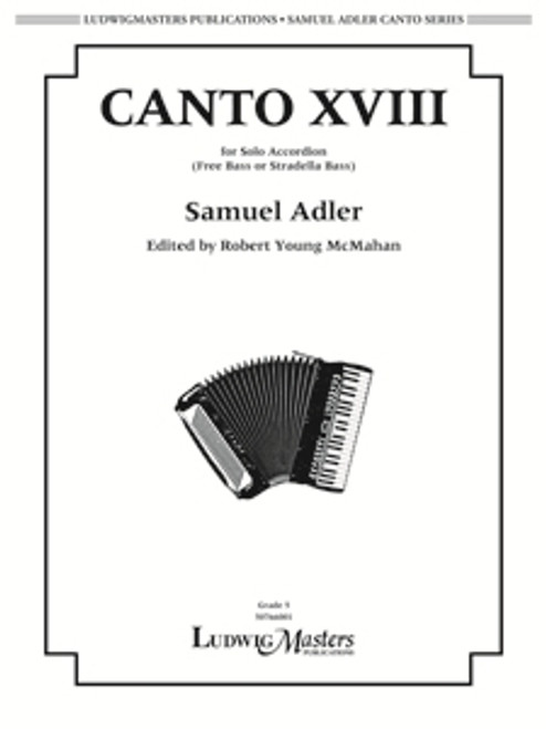 Canto XVII (for Solo Accordion) - Samuel Adler