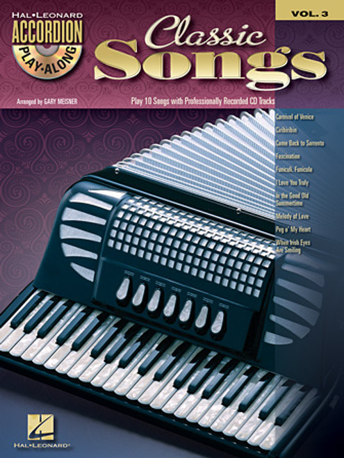 Classic Songs Accordion Play-Along Volume 3 - Gary Meisner