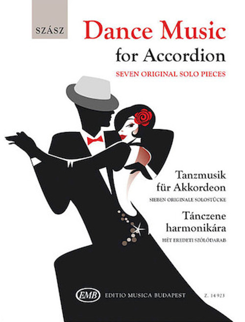 Dance Music for Accordion-Seven Original Solo Pieces - Szabolcs Szász