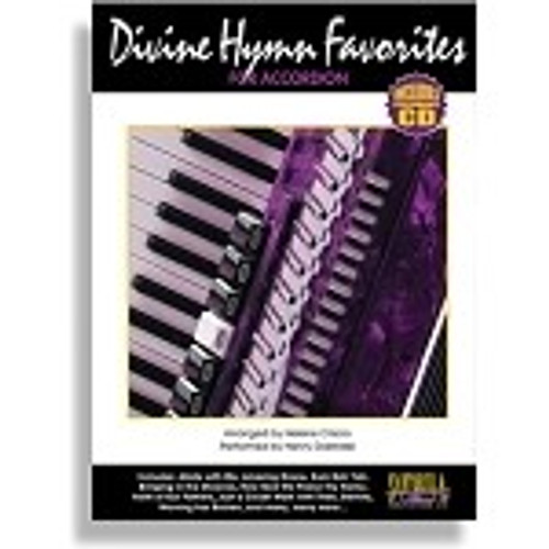 Divine Hymns for Accordion with Performance CD - Henry Doktorski