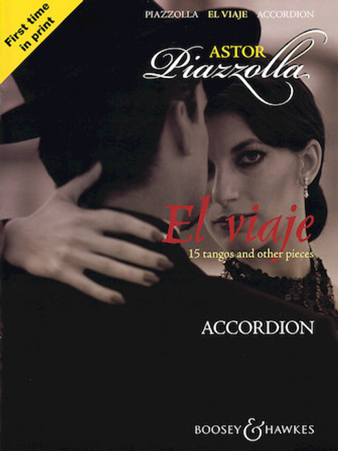 El Viage 15 Tangos and Other Pieces -  Astor Piazzolla