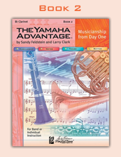 The Yamaha Advantage Book 2 - Percussion (Snare Drum, Bass Drum)
