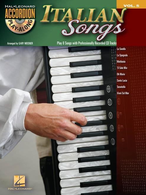 Italian Songs (Accordion Play-Along) - Gary Meisner