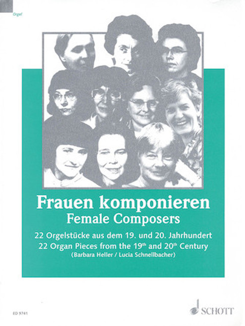 Female Composers - 22 Pieces from the 19th and 20th Century - Organ Songbook