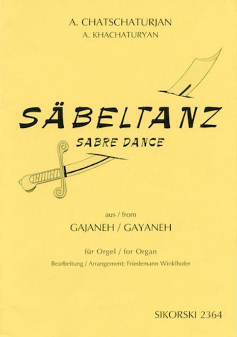 Khachaturyan - Sabre Dance (Sabeltanz) for Organ (Winklhofer) - Organ Songbook