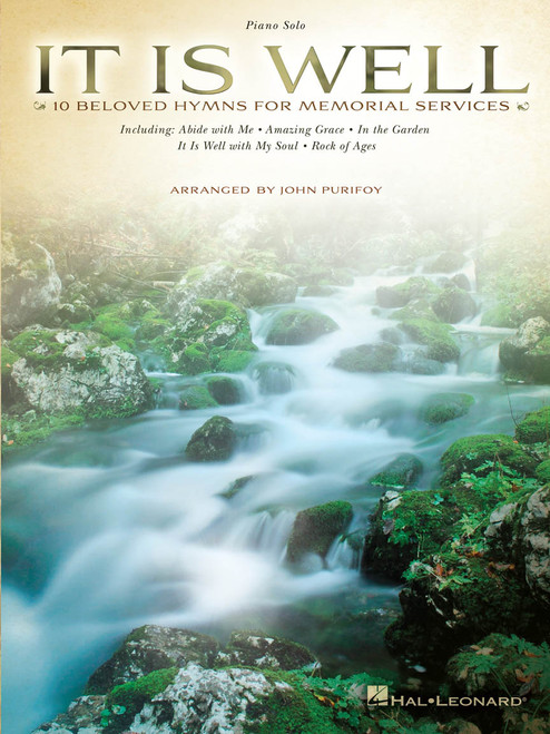 It is Well (10 Beloved Hymns for Memorial Services) - Piano Solo Songbook