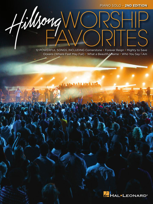 Hillsong Worship Favorites - Piano Solo Songbook (2nd Edition)