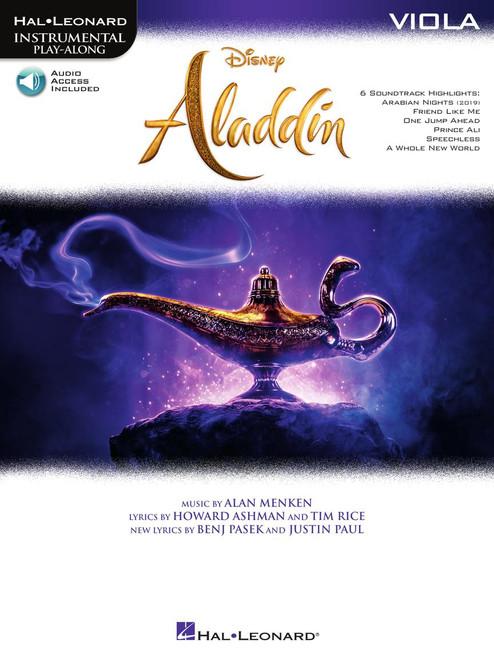 Aladdin - Viola Songbook w / Audio Access