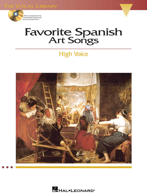 Favorite Spanish Art Songs - High Voice ( With Accompaniment CDs )