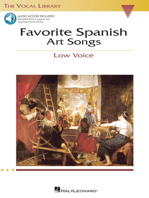Favorite Spanish Art Songs - Low Voice ( With Accompaniment CDs )