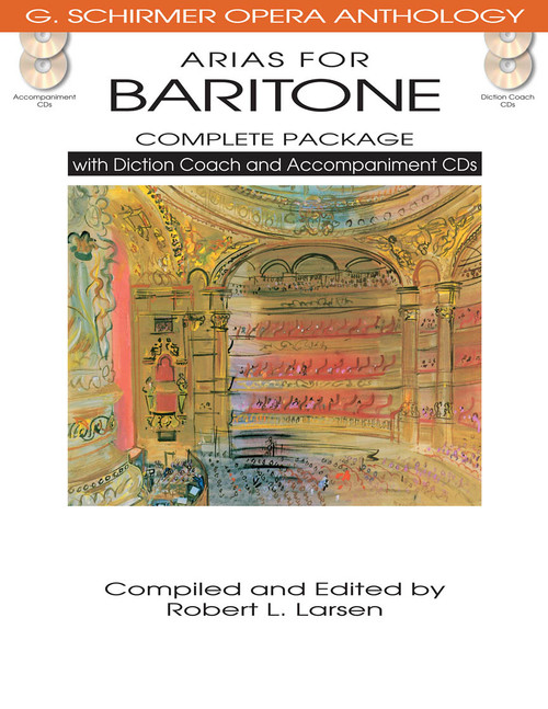 Arias for Baritone (G. Schirmer Opera Anthology) - COMPLETE PACKAGE