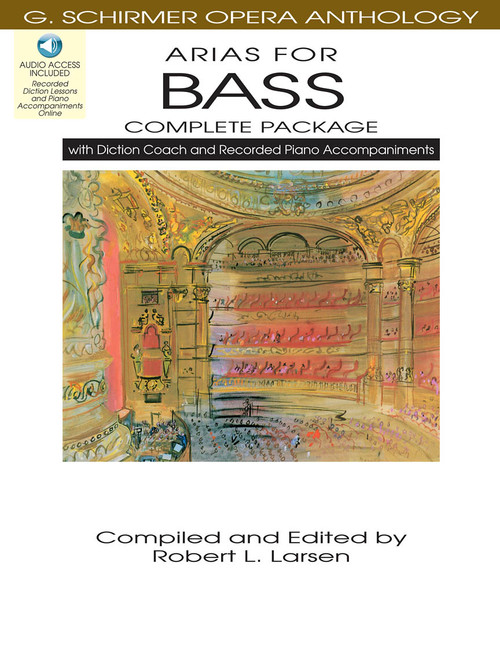 Arias for Bass (G. Schirmer Opera Anthology) COMPLETE PACKAGE