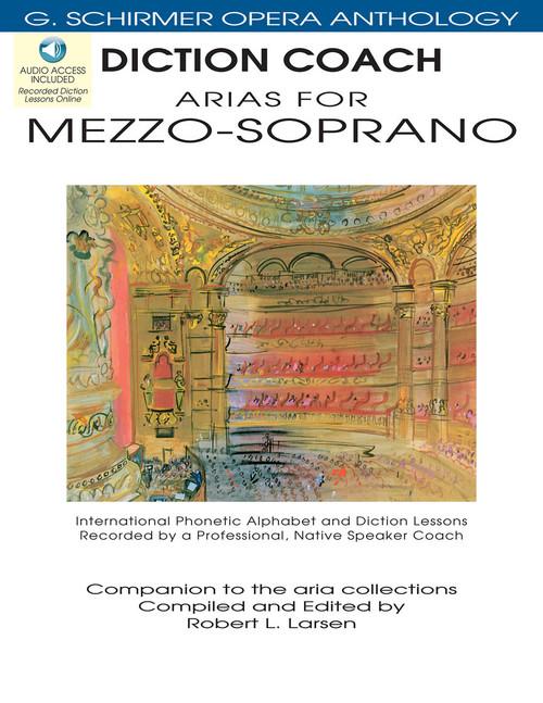 Arias for Mezzo-Soprano (G. Schirmer Opera Anthology)  - Diction Coach