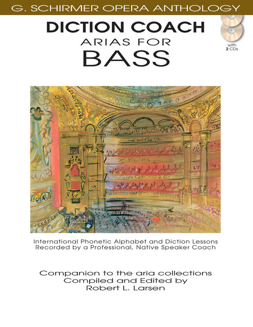Arias for Bass (G. Schirmer Opera Anthology) - Diction Coach